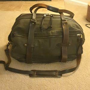 Filson Rugged Twill Duffle Bag w/side zipper